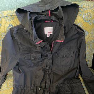 🌹Military hoodie gray utility jacket Bongo